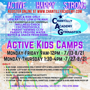 2020 ACTIVE KIDS CAMPS